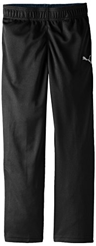PUMA Big Boys' Pure Core Pant, PUMA Black, Medium