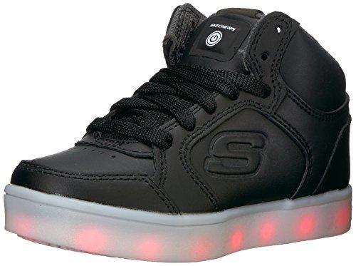 Skechers Kids Boys Energy Lights Sneaker, Black, 13 M US Little Kid