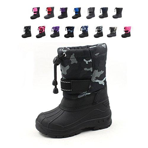 Ska-Doo Cold Weather Snow Boot 1317 Gray Camo Size 1