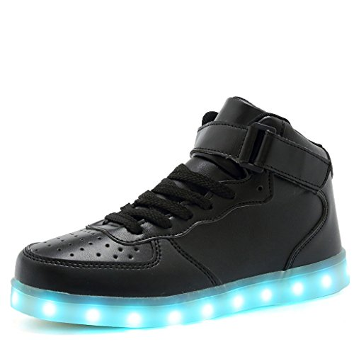 MEISUS LED Light Up Shoes USB Charging Flashing Sneakers For Boys and Girls 1705,01,37