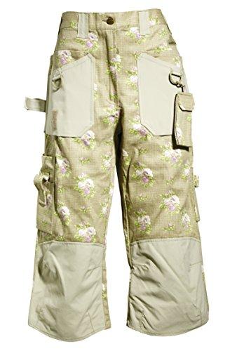 Garden Girl USA 3/4 Trousers, 2-Inch, Roses Tan