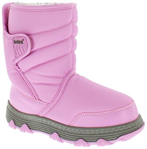 Totes Kids Vana Snow Boot, PINK, 13