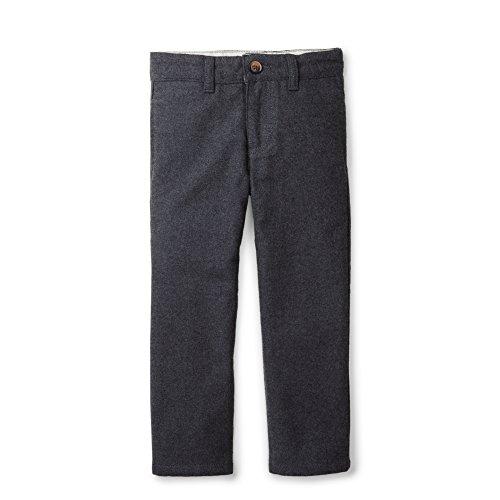 Hope & Henry Boys' Grey Dressy Faux Wool Pants Size 7