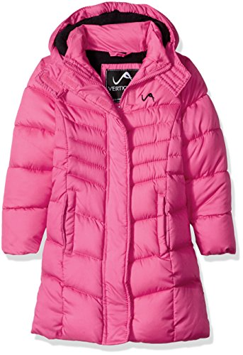 Vertical 9 Little Girls' Bubble Jacket (More Styles Available), V300-Fuchsia, 5/6
