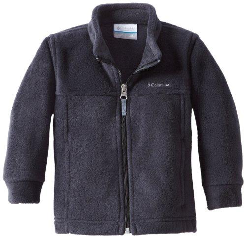 Columbia Little Boys' Steens MT II Fleece Jacket, Black, 3T