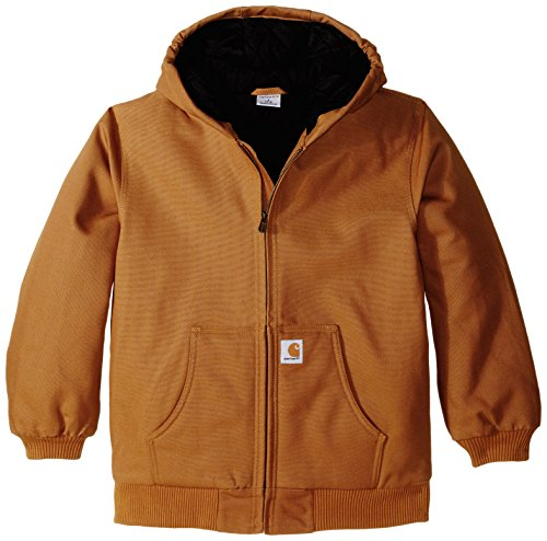 Carhartt  Big Boys' Active Jacket,Carhartt Brown,M(10-12)