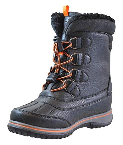 Totes Boys Noah Snow Boot, BLACK, 2