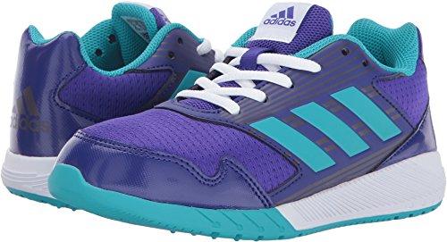 adidas Performance Girls' Altarun K Running Shoe, Energy Ink/Energy Blue/Purple Night, 4 Medium US Little Kid