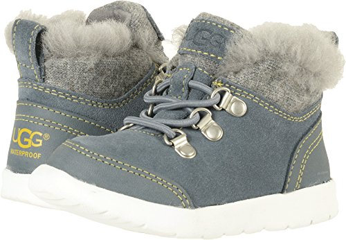 UGG Boys Obie WP Winter Boot, Norse Green, Size 12